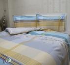 Спално бельо памучен сатен Афая