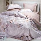 Луксозен спален комплект с жакард - Фиоре крем