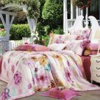 Луксозно спално бельо тенсел - Марони