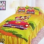 Детски спален комплект Мики Маус на пътешествие