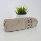 Хавлиени кърпи Ема 500гр - бежoв