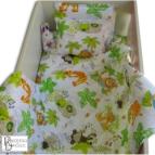 Бебешко спално бельо с олекотена завивка - Африка