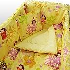 Бебешко спално бельо - Оранжево момиче