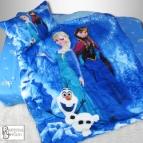 Детски комплект с олекотена завивка Замръзналото кралство