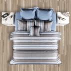 Комплект с олекотена завивка - Лазур