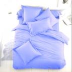 Спално бельо Ранфорс - светло Синьо