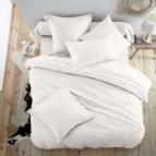 Спално бельо Ранфорс - Снежно бяло