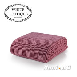Одеяло White Boutique MARBELLA COTTON - C96 Fuschia