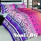 Единичен спален комплект Масай розов