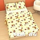 Бебешко спално бельо - Калинки