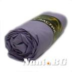 Долен чаршаф с ластик - Лилав