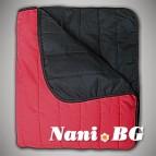 Двулицево шалте Интер червено черно