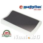 Възглавници Mollyflex Termal Grey Cervical