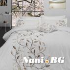 Луксозен спален комплект Казабланка крем