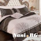 Луксозен спален комплект Олонда беж