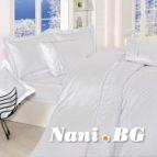 Луксозен спален комплект Престиж бял