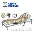 Happy Dreams метална подматрачна рамка с двигател Ерго матик