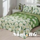 Двоен спален комплект DAISY GREEN