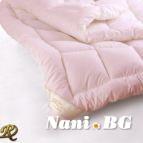 Лятна памучна олекотена завивка - розово