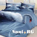 Спално бельо 3D - Swan
