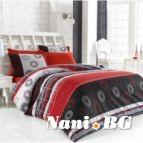 Спално бельо Аменте - Червен