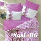 Спално бельо Барок - Розов