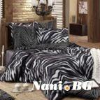 Спално бельо Бенгал - Черен