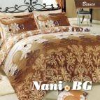 Спално бельо Бианко - Кафяв