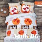 Спално бельо Дзен - Оранжев