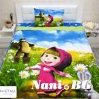 Детски спален комплект Маша и мечока