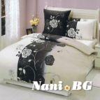 Спално бельо Романс - Черен