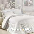 Двоен спален комплект Бели Точки