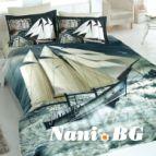 Спално бельо 3D - Кораб