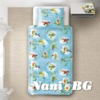Бебешко спално бельо - Папагали 2