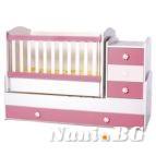 Детско легло трансформер Ниа + матраче