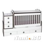 Детско легло трансформер Деси макси+матрак