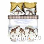 Спално бельо 3D - Жираф