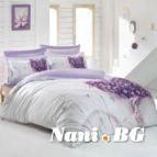 Спално бельо 3D - Люляк