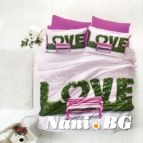 Спално бельо 3D - Love