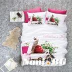 Спално бельо 3D - Valentine