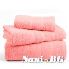 Хавлиени кърпи Бейсик - Розово