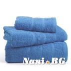 Хавлиени кърпи Бейсик - Синьо