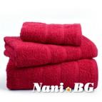 Хавлиени кърпи Бейсик - Червено