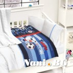 Бебешко спално бельо с одеяло бамбук - Tinny