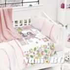 Бебешко спално бельо-Бамбук и одеяло - Приятели