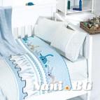Бебешко спално бельо с одеяло бамбук - Ginny Mavi