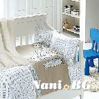 Бебешко спално бельо с одеяло бамбук - Baby Mavi