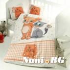 Бебешко спално бельо - Mouse and Cat