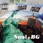 Спално бельо 3D - New York