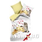 3D Бебешко спално бельо - Cat